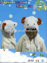 TZ-M09 Sheep plush Animal hat