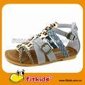 De los niños sandalia de moda con suela de goma y de buena calidad