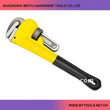 heavy duty drop forged pipe wrench tool for construction