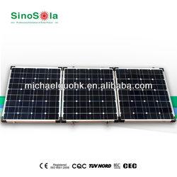 160W folding solar panel