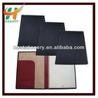 Genuine leather A4 portfolio file folder