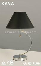 2012 Elegant fabric art table lamp 9398/1T
