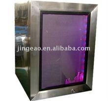 21L mini bar stainless steel upright fridge