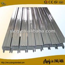 zinc coated steel c section/channel/shape profile supplier