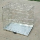 Beautiful welded dog cage