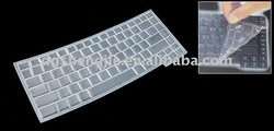 Pink silicone rubber keyboard protector