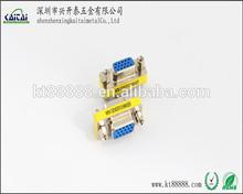 HDB 15 pin VGA female to female mini gender adapter