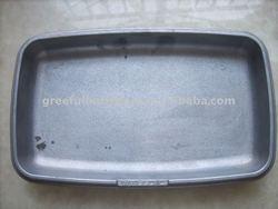 aluminum frying plate