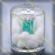 Acrylic clear cotton swab box