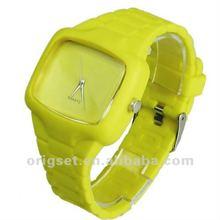 waterproof silicone bracelet watch japan movement