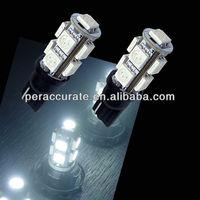 Auto led bulb T10 9 SMD 5050 led day running light