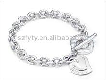 2012 Very cute bracelets stainless steel women