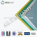 Exterior 4mm panel compuesto de aluminio( recubrimiento de pvdf)