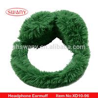 Fashionable heated earmuffs