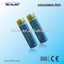super power alkaline AAA/LR03/AM4 Battery