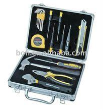 17pcs aluminum tool kit professional hand tool set