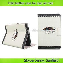 Tablet case cover auto sleep wake super slim flip leather case for ipad air mini 2 3 4, for ipad case flip