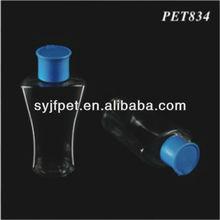 pet plastic special unique bottle 2012 spray liquor bottle 80ml
