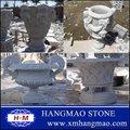 sculpture sur pierre des pots de fleurs décoratifs à bas prix