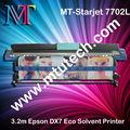 Mt - starjet 7702l plotter de impresión de epson con cabezal de impresión dx7 ( 1/2 pcs ) 1.8/3.2m actualizar el modelo