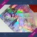 Anti- falsificação prata holograma etiqueta comimagens de pessoas