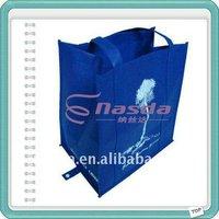 foldable eco pp non-woven shopping bag