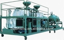 waste black engine oil cleaning machine oil recycling system