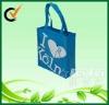 Cute nonwoven girls reusable bag gift packing bag