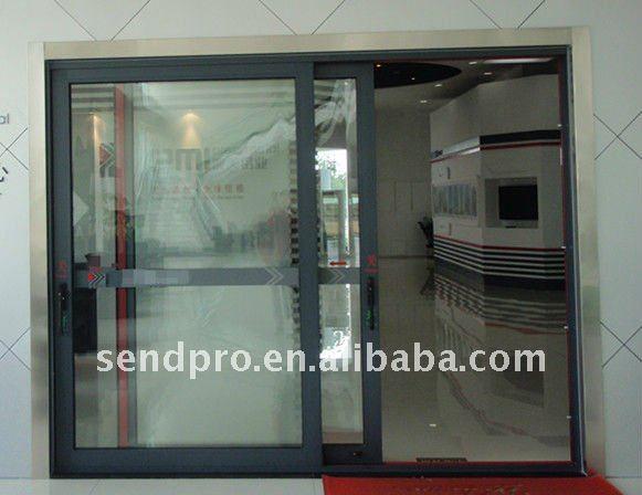 Puertas Exteriores de Aluminio y Vidrio de Aluminio de Vidrio Puerta