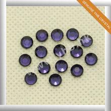 high quality hot fix rhinestone Purple Velvet
