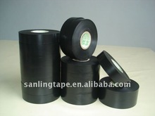 Black PVC electrical insulating tape