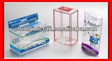 Promotional Environment Clear Plastic Pill Box