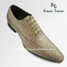 Exotic Leather Men Shoe