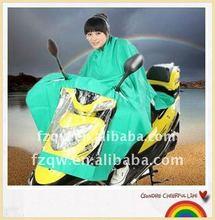 polyester motorcycle raincoat