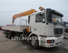 SHACMAN delong truck crane