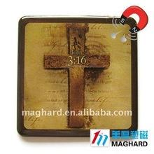Cross meaningful magnet paperweight souvenir fridge magnet