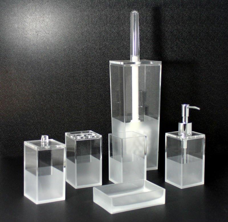 Square lija 6 unids accesorios de ba o set cepillo de for Set accesorios bano