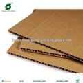 Marrón de cartón corrugado de cartón