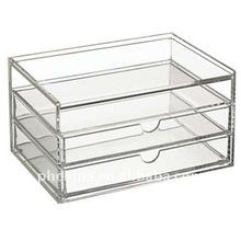 PW-343 3 Drawers Acrylic Storage Case
