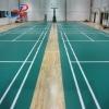 pvc vinyl Sports Flooring Badminton Court