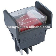 rocker switch terminal with cover