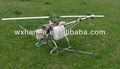 culturas varredura não tripulados helicóptero