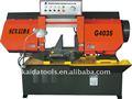 horizontal de corte de metal máquina de la sierra