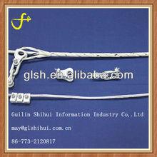 preformed galvanized steel wire OPGW dead-end clamp