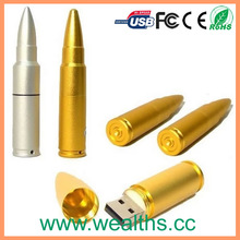 2014 New design promotional gift metal usb flash drive bullet