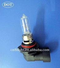 DOT certificate auto halogen head lamp 9005 (HB3) 12V 65W