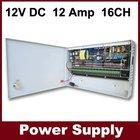 110v power supply - 12V 12A DC 16CH - CCTV 12v switching power supply