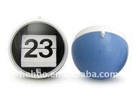 Modern flip calendar alarm clock for decor / flip analog clock