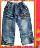 Fashion children jeans , the 2013 summer new styles