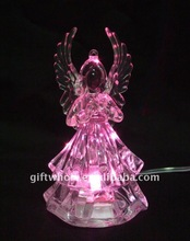 ROHS&CE certificate super cheap USB angel glow light DECORATION for 2014